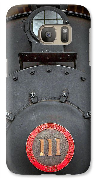 Galaxy Case featuring the photograph Locomotive 111 by Marion Johnson