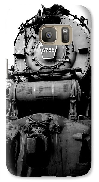 Galaxy Case featuring the photograph Locomotive Workhorse by Mary Beth Landis