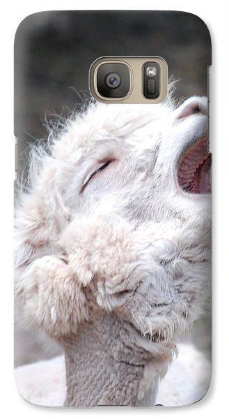Galaxy Case featuring the photograph L.o.l by Kathy Gibbons