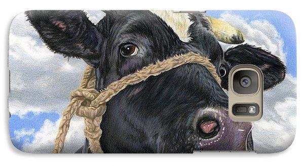 Cow Galaxy S7 Case - Lola by Sarah Batalka