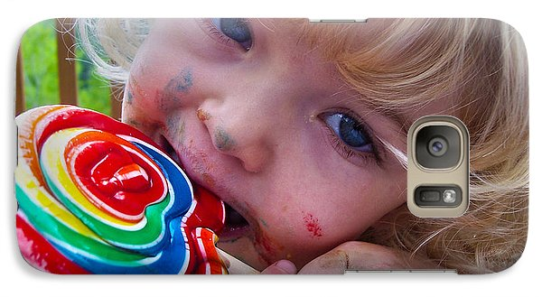 Galaxy Case featuring the photograph Lollipop Bliss by Lanita Williams