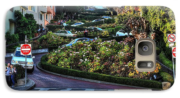 Galaxy Case featuring the photograph Lombard Street  by Kevin Ashley