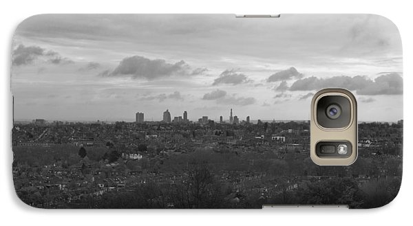 Galaxy Case featuring the photograph London City by Maj Seda