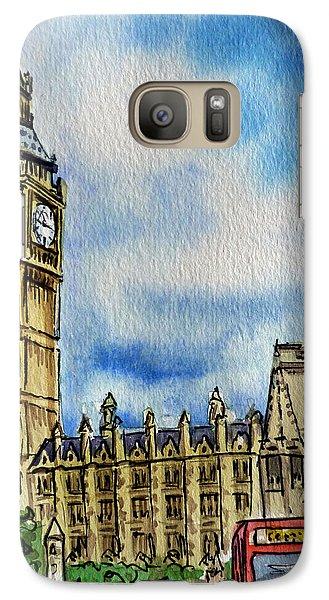 London England Big Ben Galaxy S7 Case