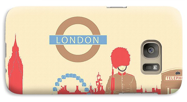 London England Galaxy S7 Case by Famenxt DB