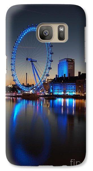 Galaxy Case featuring the photograph London Eye 2 by Mariusz Czajkowski