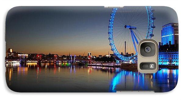 Galaxy Case featuring the photograph London Eye  by Mariusz Czajkowski