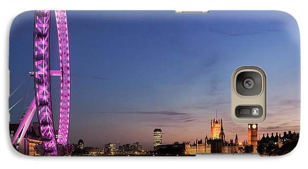 London Eye Galaxy S7 Case - London Eye by Rod McLean
