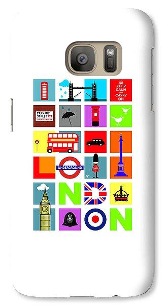 London Galaxy S7 Case by Mark Rogan