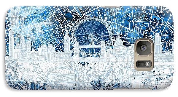 London Skyline Abstract 13 Galaxy S7 Case