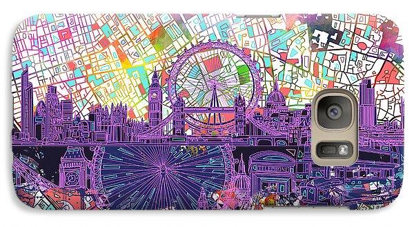 London Skyline Abstract Galaxy S7 Case