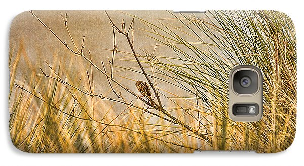Galaxy Case featuring the photograph Lone Bird by Anne Rodkin