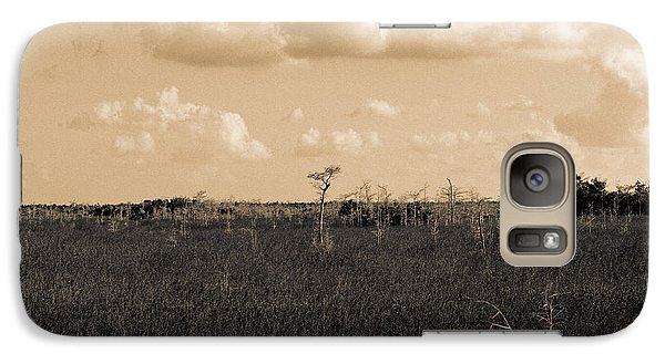 Galaxy Case featuring the photograph Lone Cypress by Gary Dean Mercer Clark