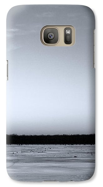 Galaxy Case featuring the photograph Lone Cypress by Jane Eleanor Nicholas