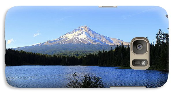 Galaxy Case featuring the photograph Lone Duck by Debra Kaye McKrill