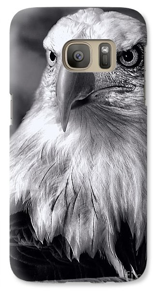 Galaxy Case featuring the photograph Lone Eagle by Adam Olsen