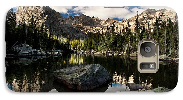 Galaxy Case featuring the photograph Lone Eagle  by Steven Reed