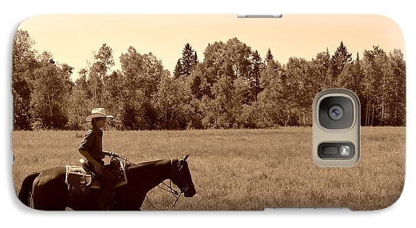 Galaxy Case featuring the photograph Lone Ranger by Sarah Mullin