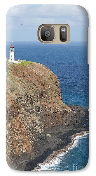 Galaxy Case featuring the photograph Lone Sentry by Suzanne Luft