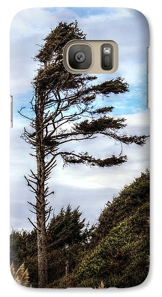 Galaxy Case featuring the photograph Lone Tree by Melanie Lankford Photography
