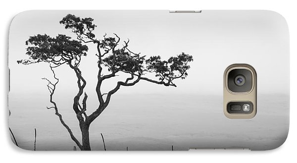 Galaxy Case featuring the photograph Lone Tree by Takeshi Okada