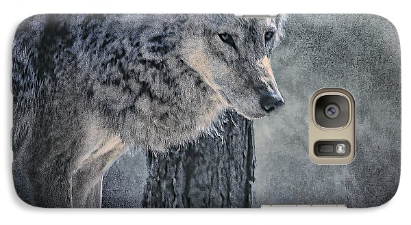 Galaxy Case featuring the photograph Lone Wolf by Brian Tarr