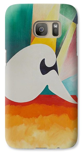 Galaxy Case featuring the painting Loneliness by PainterArtist FIN