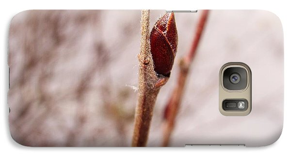 Galaxy Case featuring the photograph Lonely Bud by Zinvolle Art