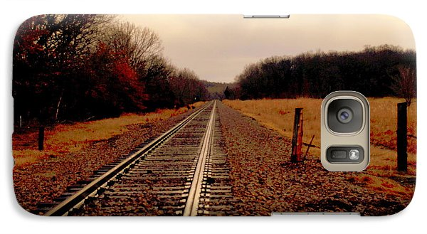 Galaxy Case featuring the photograph Lonely Journey by Karen Kersey
