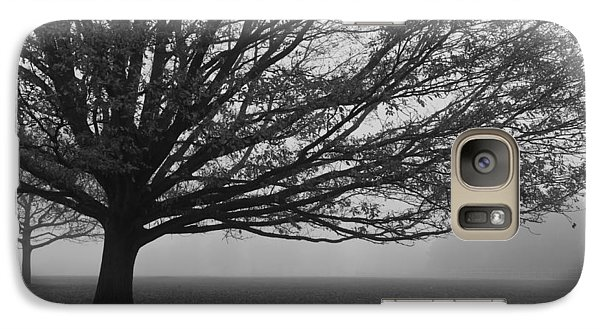 Galaxy Case featuring the photograph Lonely Low Tree by Maj Seda