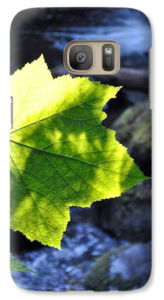 Galaxy Case featuring the photograph Lonely Me by Amanda Eberly-Kudamik