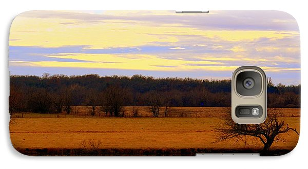 Galaxy Case featuring the photograph Lonely Pond by Karen Kersey