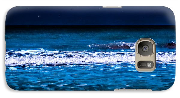Galaxy Case featuring the photograph Lonely Seagull by Randy Sylvia