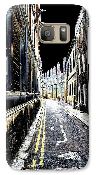 Galaxy Case featuring the photograph Lonely Street by Oscar Alvarez Jr