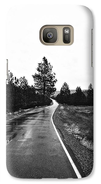 Galaxy Case featuring the photograph Lonesome Highway No. 2 by Lennie Green