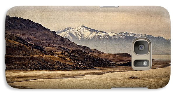 Galaxy Case featuring the photograph Lonesome Land by Priscilla Burgers