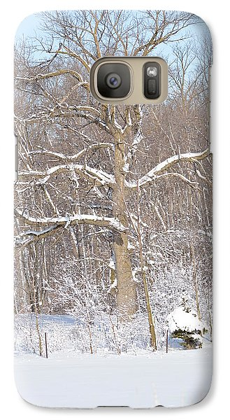 Galaxy Case featuring the photograph Loney Ash by Dacia Doroff