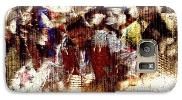 Galaxy Case featuring the photograph Long Ago Today by Kathy Bassett