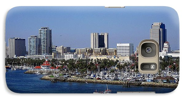 Galaxy Case featuring the photograph Long Beach by Athala Carole Bruckner