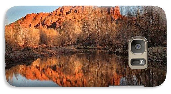 Galaxy S7 Case - Long Exposure Photo Of Sedona by Larry Marshall