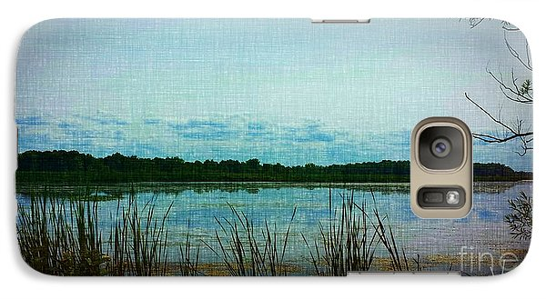 Galaxy Case featuring the photograph Long Pond by Judy Via-Wolff