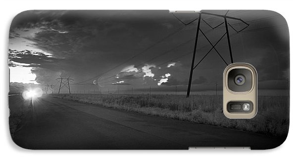 Galaxy Case featuring the photograph Long Road Home by Bradley R Youngberg