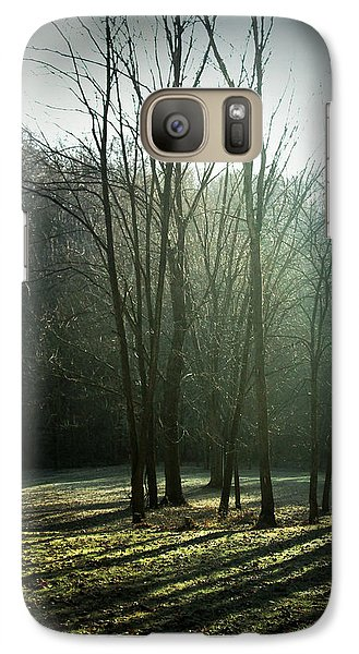 Galaxy Case featuring the photograph Long Shadows by Cynthia Lassiter