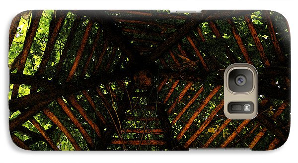 Galaxy Case featuring the photograph Long Was The Prayer He Uttered by Linda Shafer