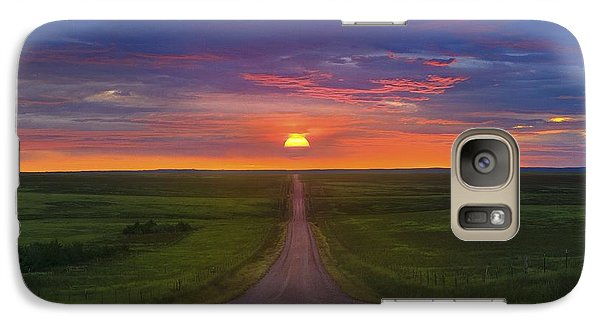 Galaxy Case featuring the photograph Long Way To Go by Kadek Susanto