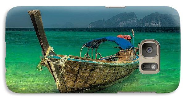 Longboat Galaxy S7 Case by Adrian Evans