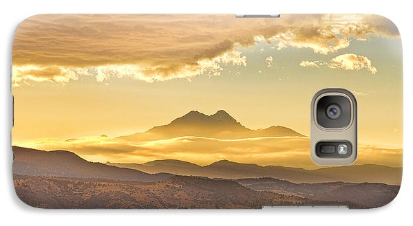 Longs Peak Autumn Sunset Galaxy S7 Case by James BO  Insogna