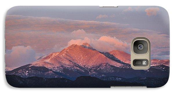 Longs Peak Sunrise Galaxy S7 Case