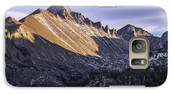 Longs Peak Sunset Galaxy S7 Case