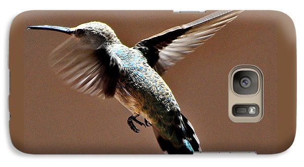 Galaxy Case featuring the photograph Look At My Crazy Crows Feet by Jay Milo